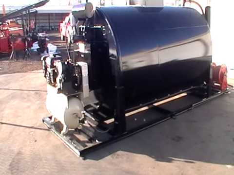 2013 1500 Gallon Seal Coat Tank Youtube