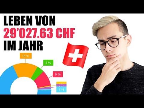 29'027.63 CHF Ausgaben Im Jahr In Der Schweiz Leben 🇨🇭💰 | Sparkojote🇨🇭💰