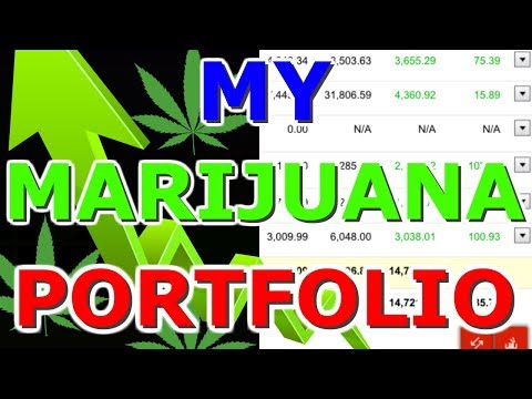 My Marijuana Portfolio 2018 - My Investing Portfolio in the stock market