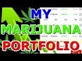 My Marijuana Portfolio 2018 - My Investing Portfolio in the stock market