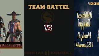 IRAQ MORTAL KOMBAT Team Battle Tournament DAY 7 HEROES VS SORCERERS مورتال كومبات عراق