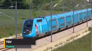 The FASTEST Trains in the World 2018! | High speed train compilation