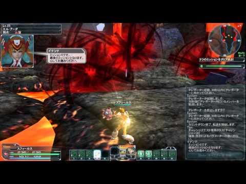 PSO2 MISSION:始動ソロ M1-10