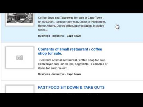 Business for sale Cape Town