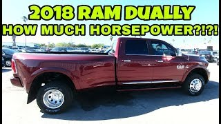 2018 RAM 4X4 Limited Dually has HOW much horsepower? Full Review!