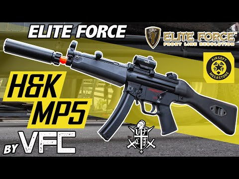 The Rolls Royce of SMGs   Elite Force H&K MP5s by VFC   Full Review Airsoft Megastore