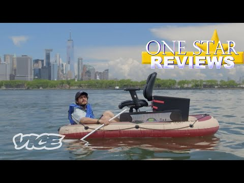 Taking Amazon's Worst-Rated Boat Out to Sea   One Star Reviews