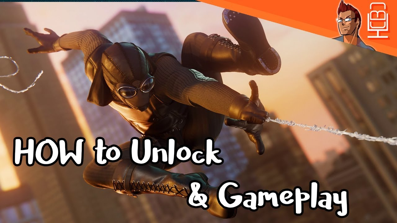 spider-man ps4 noir suit how to unlock & gameplay l marvel's spider