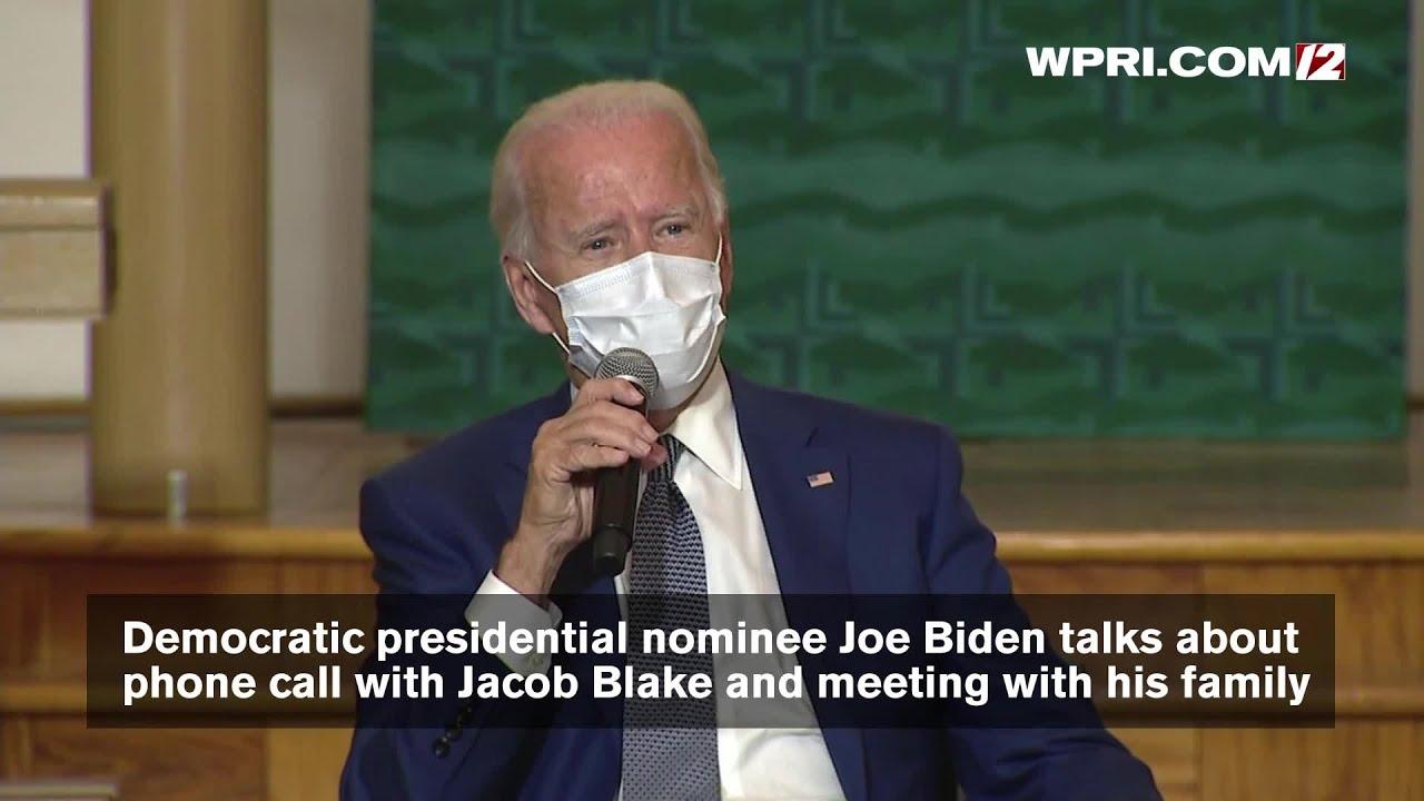 Joe Biden Meets With Jacob Blake's Family