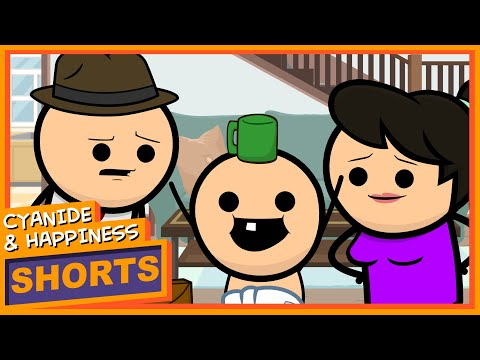 Copycat - Cyanide & Happiness Shorts
