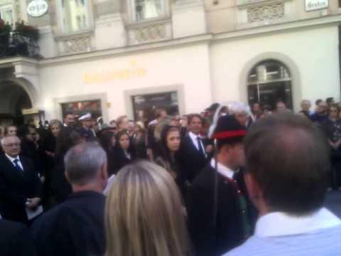 Funeral of Otto Habsburg. Beerdigung von Otto Habsburg Part 2