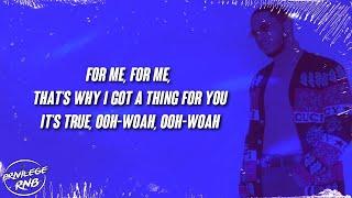 Vedo - For Me (Lyrics) ft. Jacquees