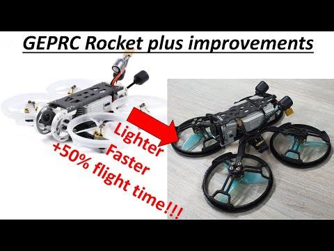 "Фото Best 2.5"" DJI FPV whoop? Improve your GEPRC Rocket!"