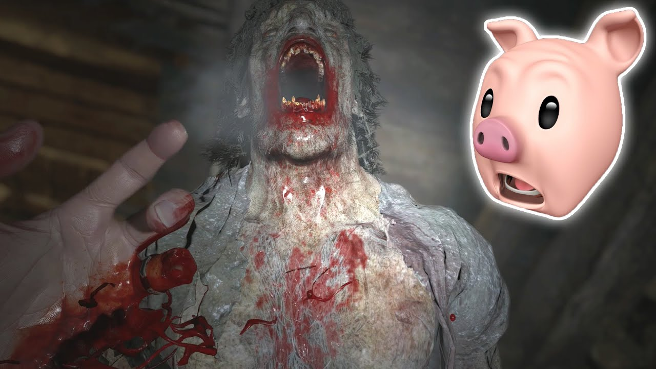 HE ATE MY FINGERS!! | Resident Evil Village | Fan Choice FRIGHTday