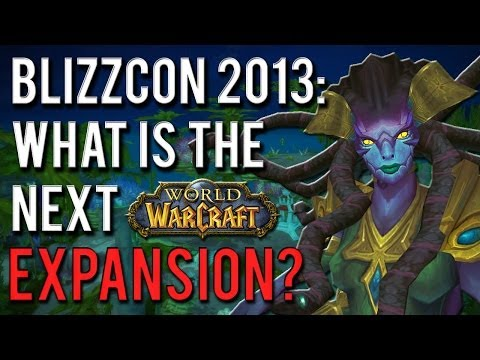 Blizzcon 2013 schedule: what will be announced? [A World of Warcraft discussion]