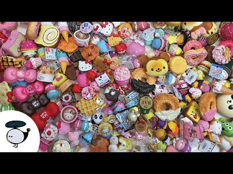 Biggest Squishy Collection Ever : MASSIVE SQUISHY COLLECTION 2015 - YouTube