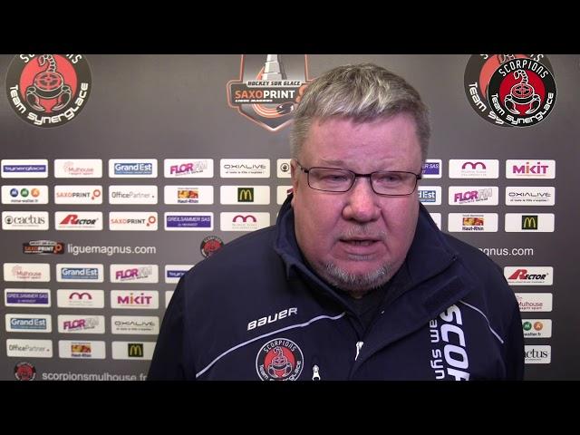 Mulhouse - Rouen (06/02/2018) : Réactions d'après match