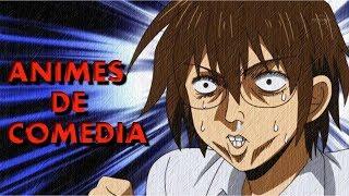 MEJORE animes de COMEDIA 😂 que TIENES que VER!!!!!🤣