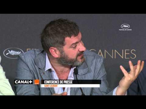 Cannes 2014 SAINT LAURENT - Conférence de presse