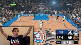 RUSSELL WESTBROOK HALF COURT GAME WINNER AT THE BUZZER! NBA 2K17