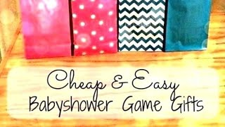 Baby Shower Games And Prizes Ideas