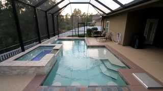 Pebble Pool Finish SunStone Pearl | White Pearl
