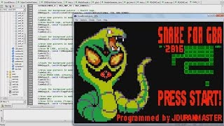 Creating a SNAKE Game Engine for Game Boy Advance using C Programming Language (DevKitAdv Dev. Kit)