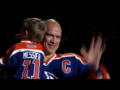 reputable site 723d5 5b61a Mark Messier Oilers retirement-Behind the Scenes
