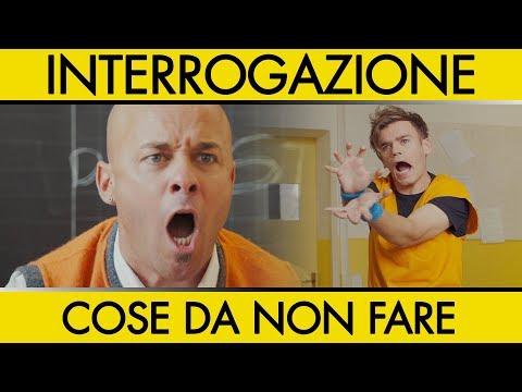 INTERROGAZIONE - COSE DA NON FARE - iPantellas