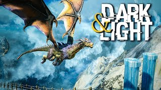 Dark And Light - KILLING GRIFFINS, HARRY POTTER MEETS ARK! - DNL Survival RPG Gameplay