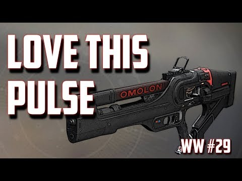 Great Pulse Rifle for this weeks Weapon Wednesday #29 Agrona Pr4  - Destiny 2