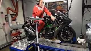 WorldWide Bomber Magazine`s tuned Kawasaki H2 made 277hp!