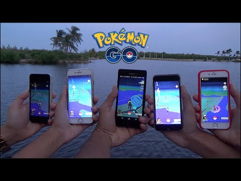 Pokemon GO At CAMANA BAY