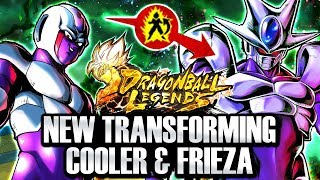 NEW TRANSFORMING COOLER & DBS FRIEZA SOON! Dragon Ball Legends & Dokkan Battle Leaks