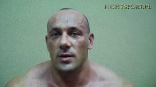 Robert Burneika - wywiad po walce z Marcinem Najmanem na MMA Attack 2 2017 Video