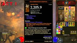Diablo 3: Reaper of Souls - Adventure Mode Bounty Reward Legendary Items