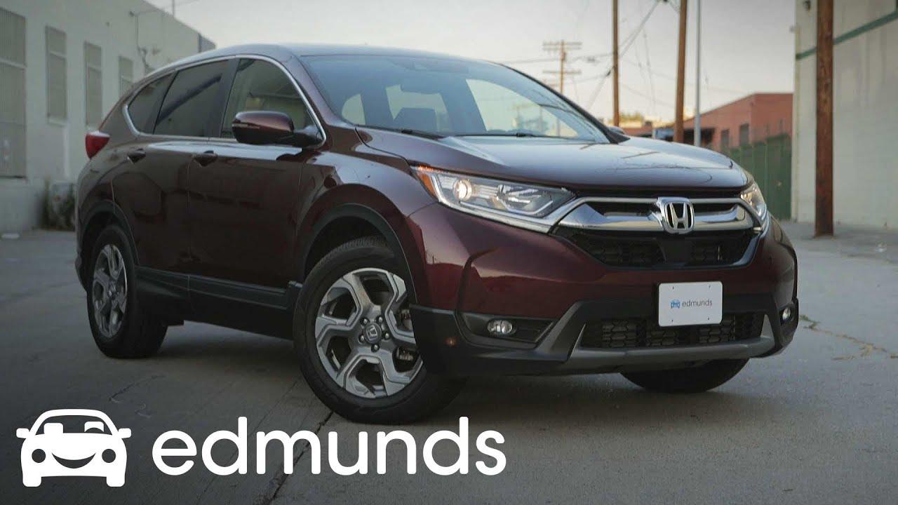 2017 Honda Cr V Model Review Edmunds