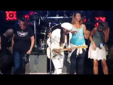 Nile rodgers & Chic mansfield ma. 7-17-16