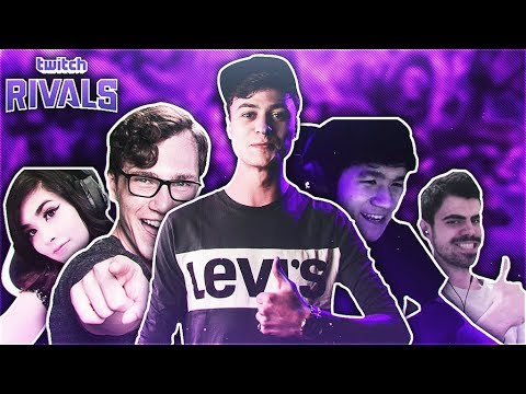 LL STYLISH | TWITCH RIVALS : THE ONE TRICKS TEAM REVEALED [TEAM GAMEPLAY]