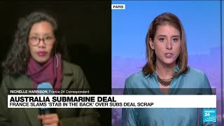Australia submarine deal: Canberra dumps French deal for US nuclear fleet • FRANCE 24 English