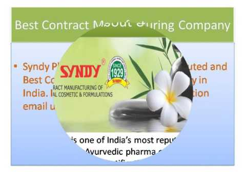 Best Contract Manufacturing Company in India