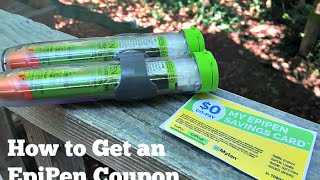 How to Get a Free Free Epipen Coupon