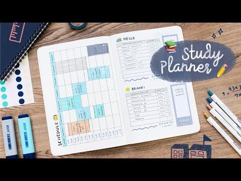 ทำ Study Planner: ตารางเรียน ตารางอ่านหนังสือ ต้อนรับเปิดเทอม📚 Peanut Butter