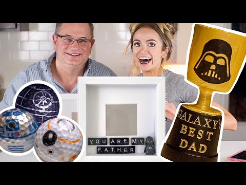 3 Easy STAR WARS DIY Gifts for Dads | Fathers Day 2018