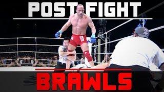 Biggest Post Fight Brawls In MMA