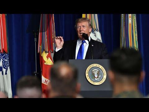 Donald Trump takes tough line on Pakistan as terrorist 'safe haven'– video