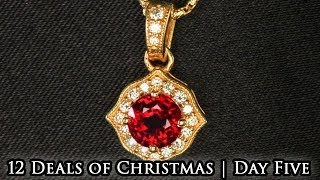 Red Ruby Pendant | 12 Deals of Christmas - Day 5