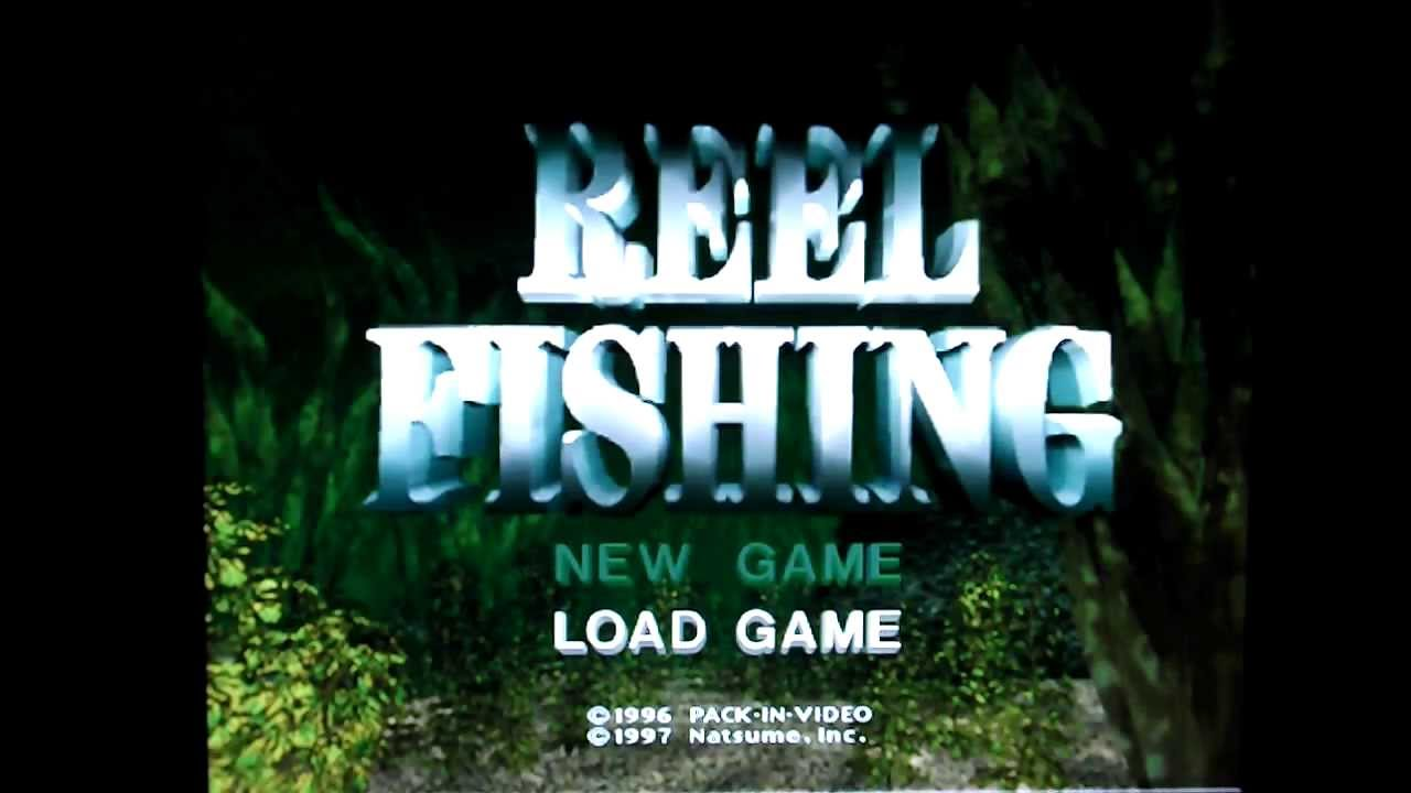 Ps1 games revisited reel fishing part 1 youtube for Ps4 hunting and fishing games