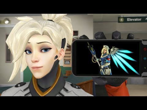 Mercy Being Played By Someone Who Sounds Like Mercy