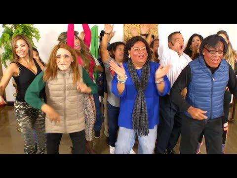 """Eva Ayllón, Natalia Málaga y Leyla Chihuán cantaron y bailaron """"Despacito"""" en El Wasap de JB"""